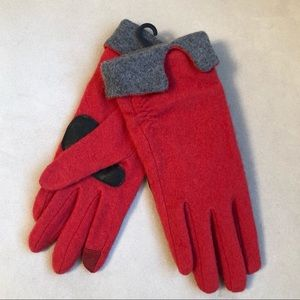 Brand new wool blend touch compatible gloves